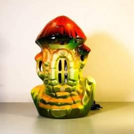 Ионизатор воздуха - модель Морской домик Мухомор со светильником